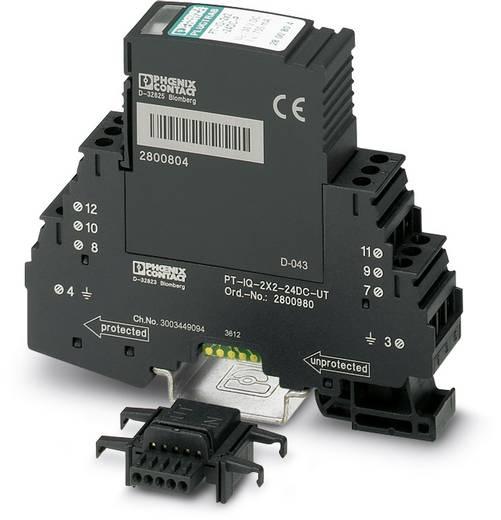 Phoenix Contact PT-IQ-2X2+F-24DC-UT 2800981 Overspanningsafleider Overspanningsbeveiliging voor: Verdeelkast 10 kA