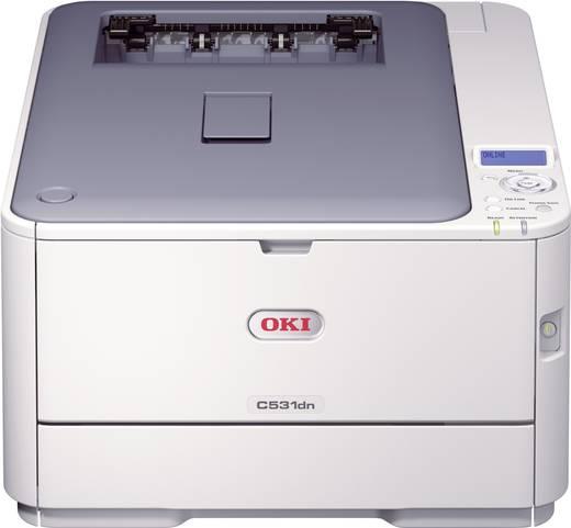 OKI C531dn Kleurenlaserprinter A4 30 p/min 26 p/min 1200 x 600 dpi Duplex, LAN