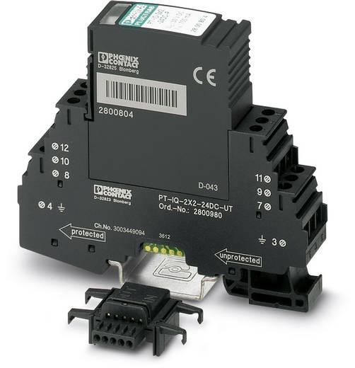 Phoenix Contact PT-IQ-2X2-24DC-UT 2800980 Overspanningsafleider Overspanningsbeveiliging voor: Verdeelkast 10 kA