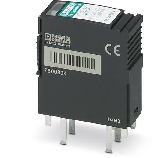 Phoenix Contact PT-IQ-4X1-24DC-P 2800813 Insteekbare overspanningsafleider Overspanningsbeveiliging voor: Verdeelkast