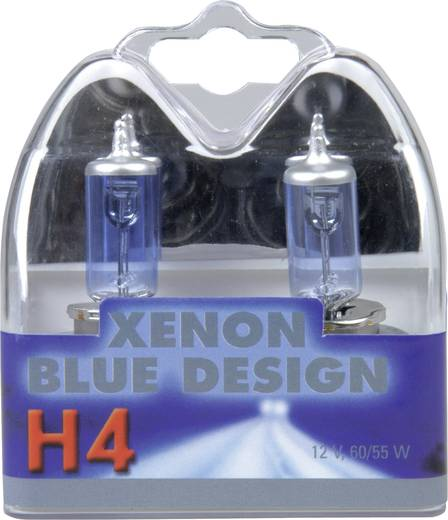 Halogeenlamp Unitec Xenon Blue H4 60/55 W<br