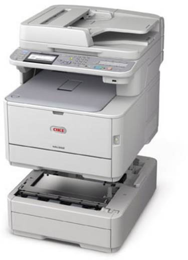 Multifunctionele kleurenlaserprinter OKI MC362dn A4 Printen, Scannen, Kopiëren, Faxen LAN, Duplex, ADF