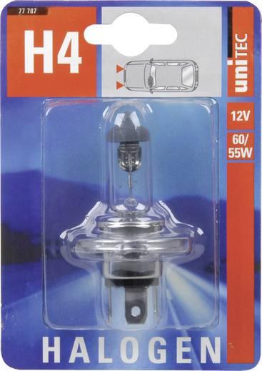 Halogeenlamp Unitec Standard H4 12 V 1 stuks P43t
