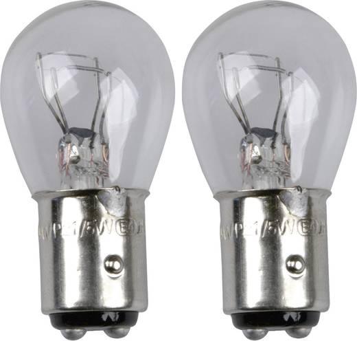 Signaallamp Unitec Standard P21/5W 12 V 1 paar BAY15D