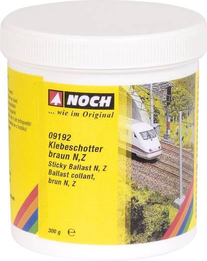 Klevende gravel NOCH 9192 Bruin 300 g