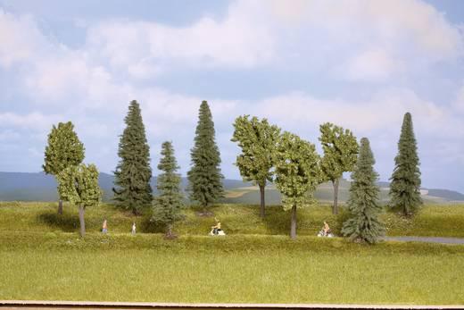 Set bomen Gemengd bos Hoogte (min.): 100 mm Hoogte (max.): 140 mm NOCH 24220 Lichtgroen, Donkergroen 10 stuks