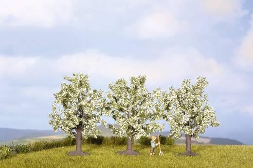 Set bomen Fruitboom Hoogte (min.): 45 mm Hoogte (max.): 45 mm NOCH 25511 Wit, Bloeiend 3 stuks