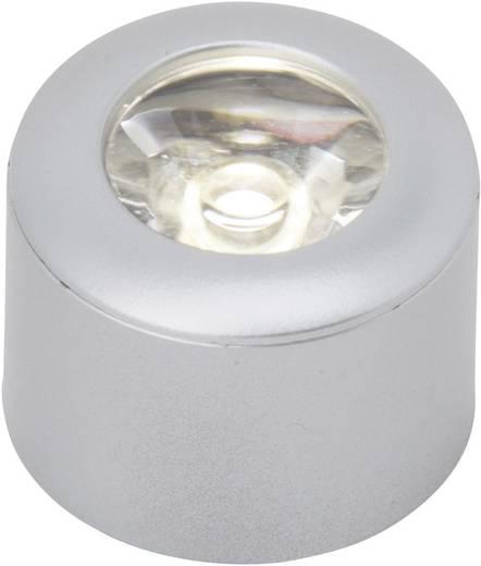 LED-opbouwlamp werkt op het lichtnet 3 W Wit Zilver Brilliant G94620/21 Set van 3