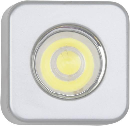 LED-opbouwlamp werkt op het lichtnet 3 W Zilver Brilliant G94621/21