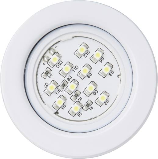 Brilliant LED-onderbouwlamp 32.2 W Wit Fluenca Wit G94628/05 Set van 3