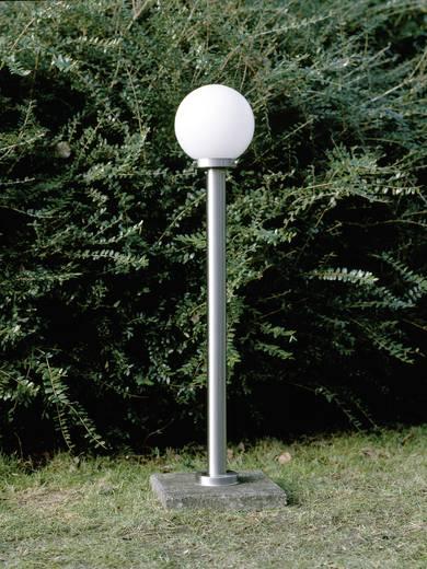 Staande buitenlamp Spaarlamp E27 60 W Brilliant Aalborg 44085/82 RVS