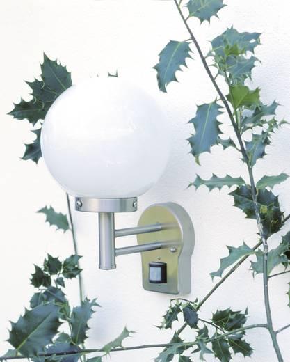 Buitenwandlamp met bewegingsmelder E27 60 W Brilliant Aalborg 44097/82 RVS