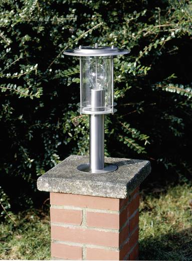 Staande buitenlamp Halogeen E27 60 W Brilliant York 44784/82 RVS