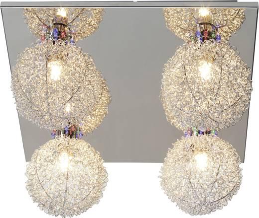 Plafondlamp Halogeen, LED G9 115 W Chroom, Aluminium Brilliant Gabano G93963/77