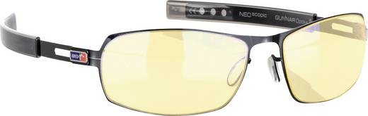 Gunnar Optiks MLG Phantom Gloss Game bril Onyx, Amber