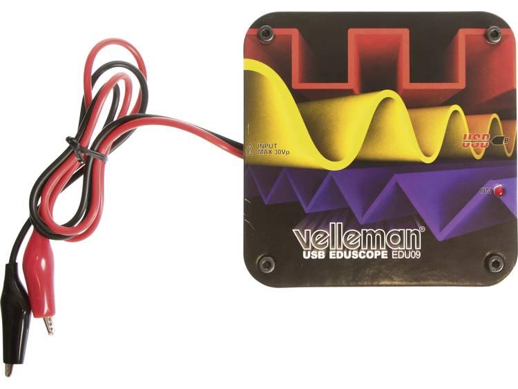 Educatieve oscilloscoopkit voor de pc Velleman EDU09