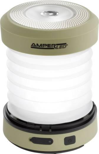 Ampercell 10429 LED Campinglamp Monica werkt op de dynamo 168 g Olijf-groen