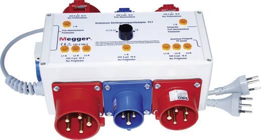 Megger Drehstrom-Adapter PCT,Geschikt voor (details) PAT300- en PAT400-serieDE-009
