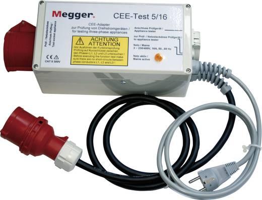 Megger Draaistroomadapter CEE-test 5/16, Geschikt voor PAT300- en PAT400-serieDE-050