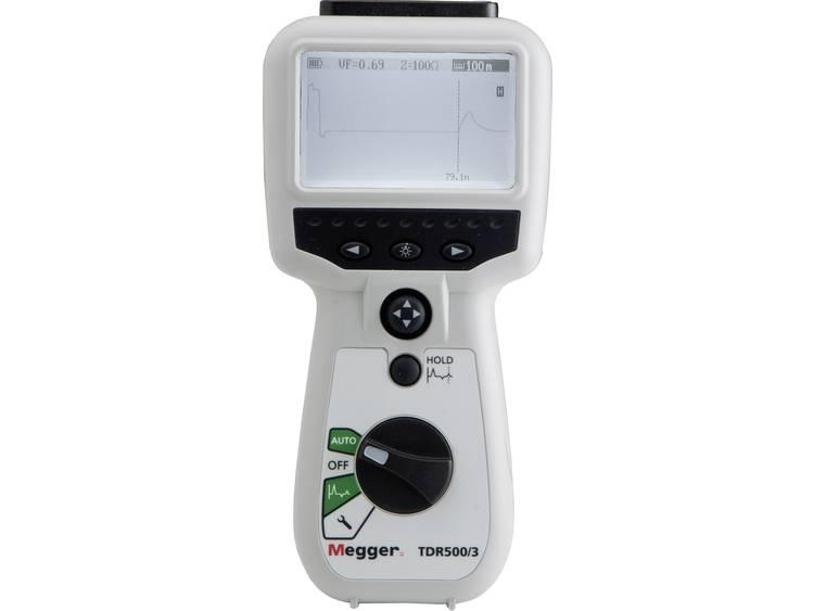 Megger TDR500 3 Tijdsdomeinreflectometer kabeltestapparaat kabeltester