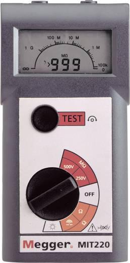 Megger MIT220 250 V, 500 V 0,01 - 999 MΩ CAT III / 600 V