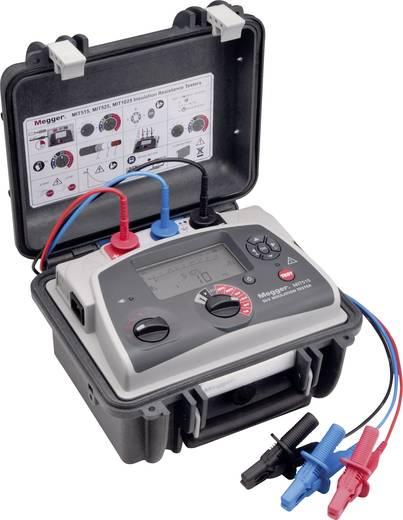 Megger MIT515-EU 250 V, 500 V, 1000 V, 2500 V, 5000 V, bovendien instelbaar 100 V tot 1 kV in stappen van 10 V · 1 kV t