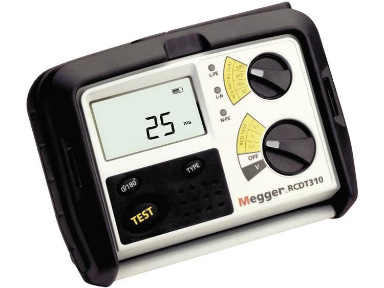 Megger RCDT330 FI-RCD-TESTER, metingen conform DIN VDE 0100-600, DIN VDE 0105-