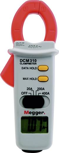 Stroomtang, Multimeter Megger DCM310 CAT III 600 V Zonder certificaat