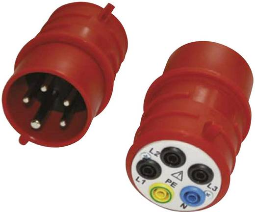 Draaistroomadapter 16A, CEE16-S (stekker)