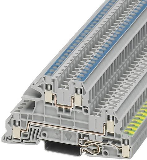 Phoenix Contact STI 2,5-PE/L/N Installatieklem UTI Grijs Inhoud: 1 stuks