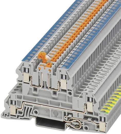 Phoenix Contact DTI 2,5-PE/L/NTB Installatieklem UTI Grijs Inhoud: 1 stuks