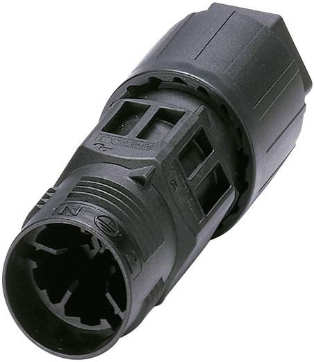 QUICKON-ONE kabelverbinder Aantal polen: 4 + PE Koppelverbinder 1403834 Phoenix Contact 1 stuks