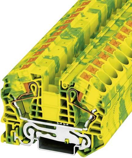 Phoenix Contact PT 16 N-PE Push-In veiligheidsklemmen PIT-PE Groen-geel Inhoud: 1 stuks