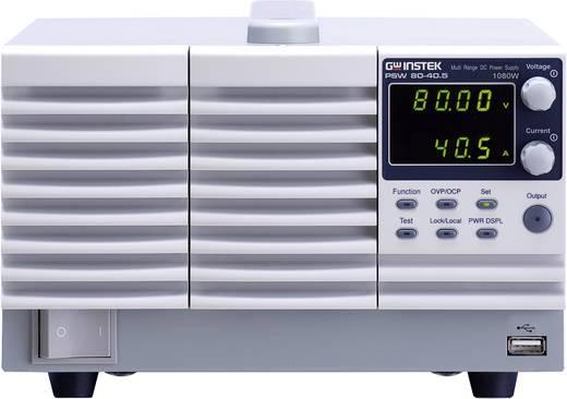 GW Instek PSW160-21.6 Labvoeding, regelbaar 0 - 16 V/DC 0 - 21 A 1080 W Aantal uitgangen 1 x