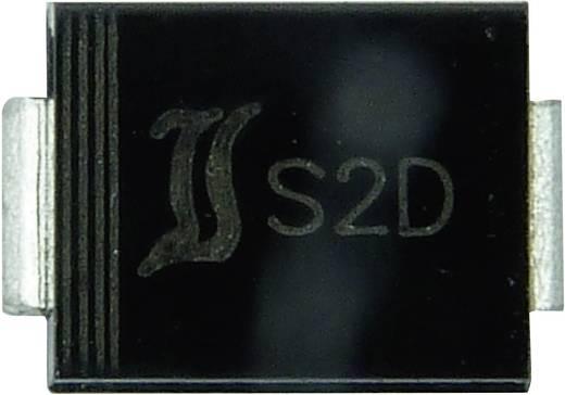 Diotec FR2G Snelle SI-gelijkrichter diode DO-214AA 400 V 2 A