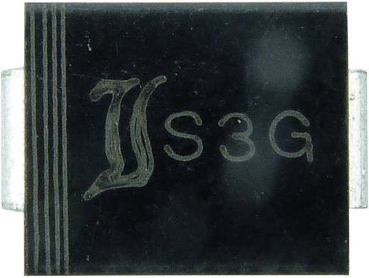 Diotec FR3A Snelle SI-gelijkrichter diode DO-214AB 50 V 3 A