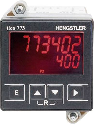 Hengstler Tico-MFH 100-240VAC-TG-2-RS232 Multifunctionele teller Tico 774 met RS232-interface 100 - 240 V/AC Inbouwmate