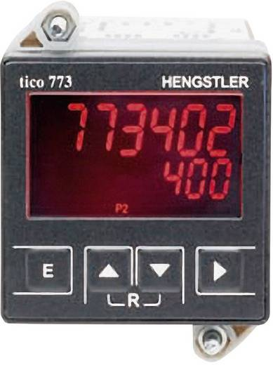 Hengstler Tico-MFH-100-240VAC-TS-2-RS232 Multifunctionele teller Tico 774 met RS232-interface 100 - 240 V/AC Inbouwmate