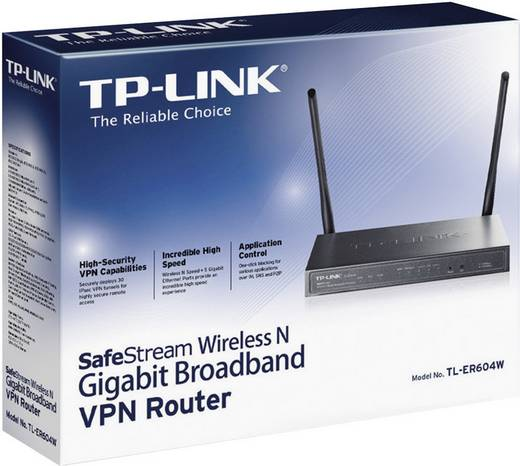 TP-LINK TL-ER604W WiFi router 2.4 GHz 300 Mbit/s
