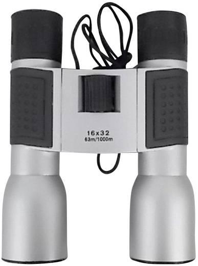 Basetech Compact 16x32 Verrekijker 16 x 32 mm Zilver-zwart