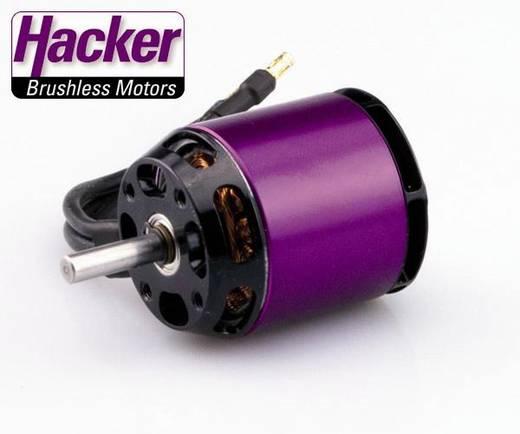 Hacker A30-22 S V3 Brushless elektromotor voor vliegtuigen kV (rpm/volt): 1100 Aantal windingen (turns): 8