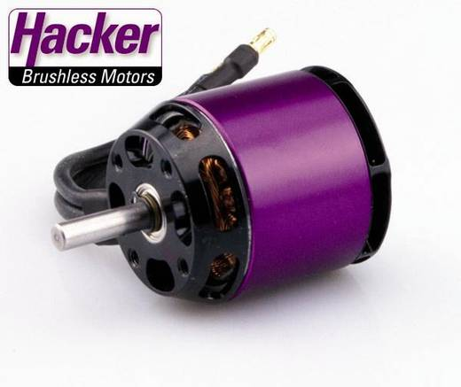 Hacker A30-14L V4 Brushless elektromotor voor vliegtuigen kV (rpm/volt): 800 Aantal windingen (turns): 14