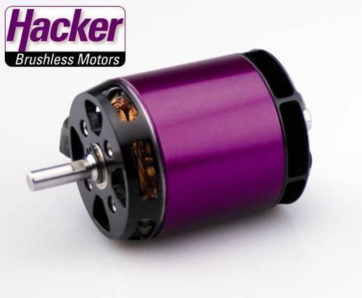 Hacker A50-16 L V3 Brushless elektromotor voor vliegtuigen kV (rpm/volt): 265 Aantal windingen (turns): 16
