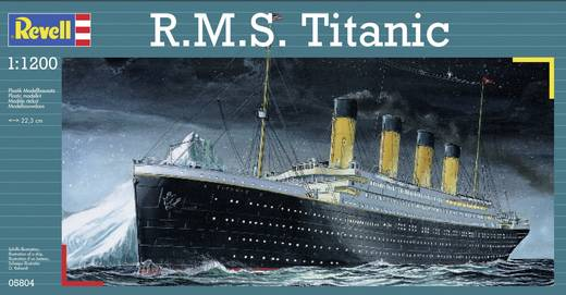 Revell 05804 Scheepsmodel R.M.S. Titanic