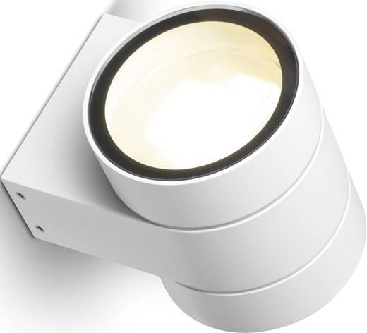Sygonix Fossa 33097D Wandlamp GX53 22 W Spaarlamp Sygonix-wit