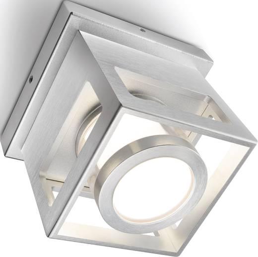 LED-plafondlamp 15 W Koud-wit Zilver-grijs Elice