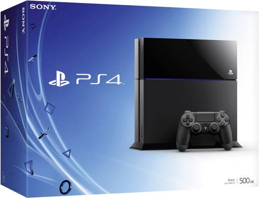 Sony Computer Entertainment Playstation 4 console 500 GB Zwart