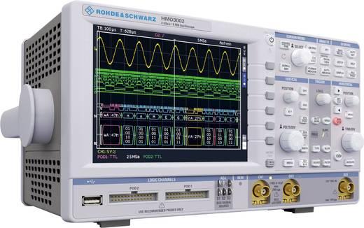 Rohde & Schwarz HMO3052 Digitale oscilloscoop 500 MHz 2-kanaals 2 GSa/s 4 Mpts 10 Bit Digitaal geheugen (DSO)