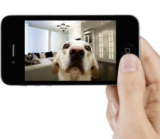 WiFi IP-camera Belkin F7D7601de Geschikt voor App: Ja 640 x 480 pix
