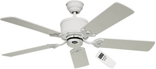 Plafondventilator (Ø) 132 cm met afstandsbediening CasaFan Plafondventilator Eco Elements Eco Wit/grijs